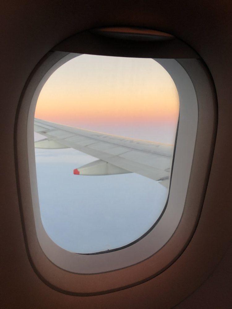 vista desde el avion